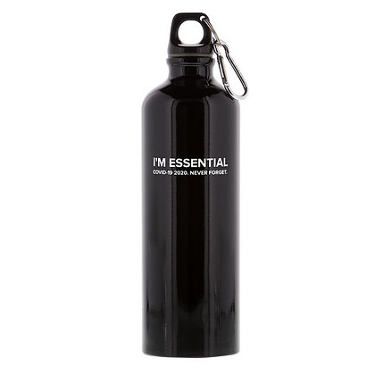"""I'M ESSENTIAL"" 2020 NEVER FORGET WATER BOTTLE"
