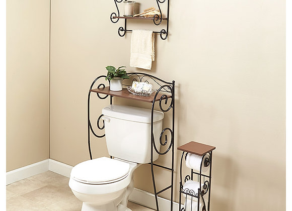 Iron Scrolled Bathroom Furniture Collection