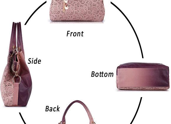 Handbags for Women, Tinksky Faux Leather Purse Ladies Handbag Vintage Designer