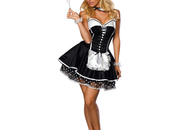 Flirty Maid Adult Halloween Costume