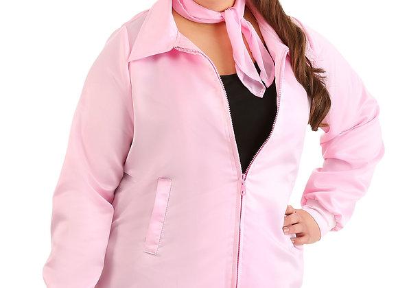 Plus Size Grease Pink Ladies Costume Jacket