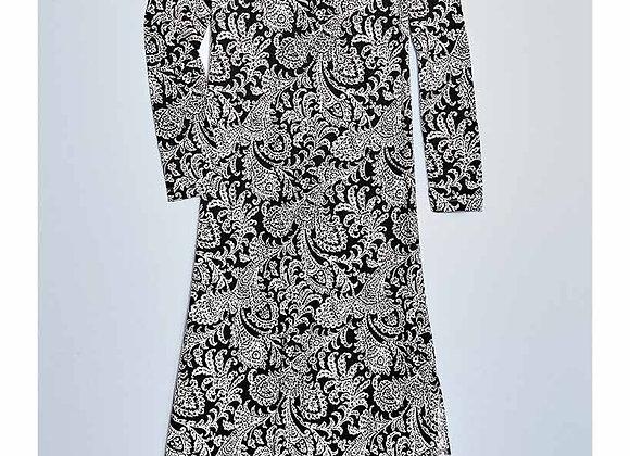 Long-Sleeved Maxi Dresses