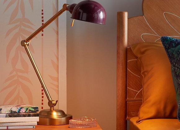 Venetian Wine Adjustable Arm Task Light by Drew Barrymore Flower Home