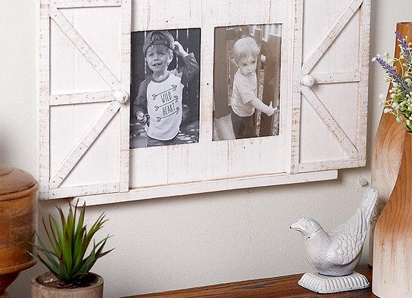 Rustic Barn Door Photo Frames