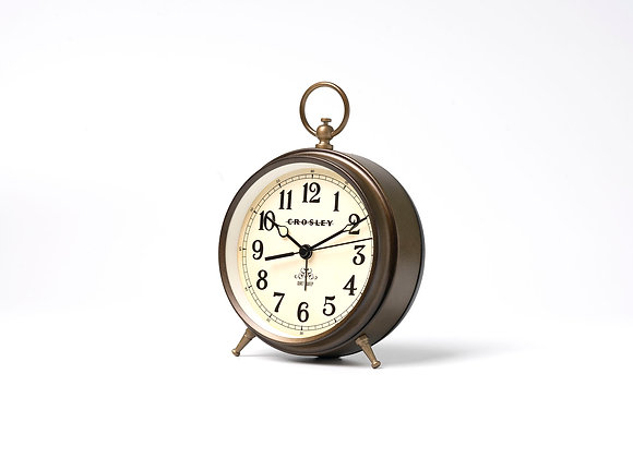 Crosley Vintage Metal Finial alarm - bronze