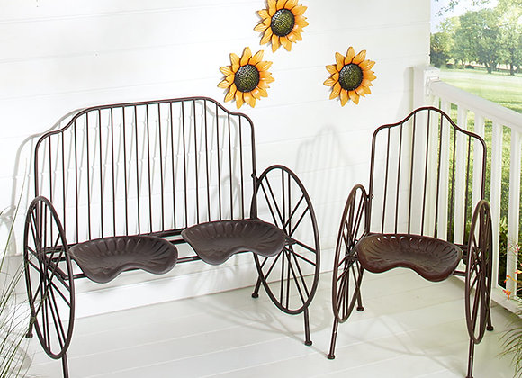 Metal Farmhouse Bench or Chair