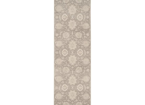Safavieh Vintage 9' X 12' Power Loomed Rug in Gray and Ivory