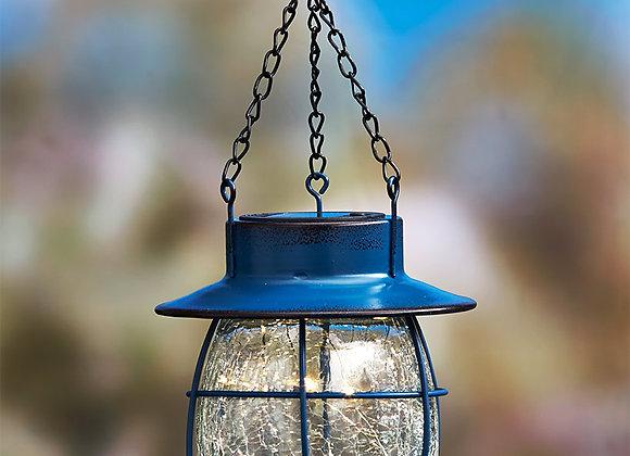 Country Solar Hanging Lanterns
