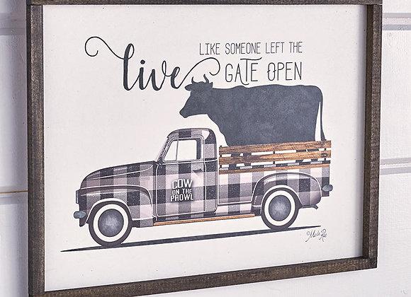 Vintage Truck Wall Art by Marla Rae