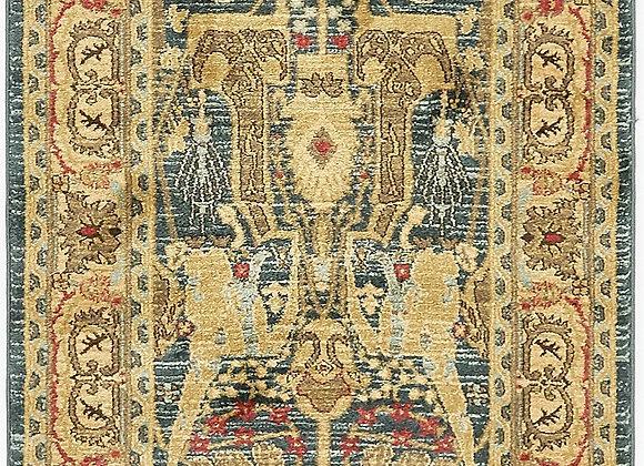 Unique Loom Marwan Sahand Vintage Floral Area Rug or Runner