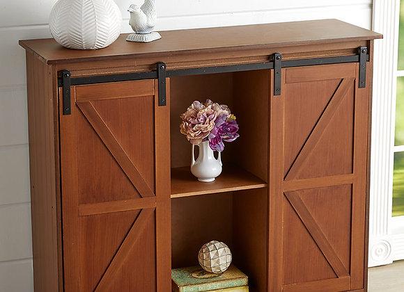 Barn Door-Style Buffet Cabinets
