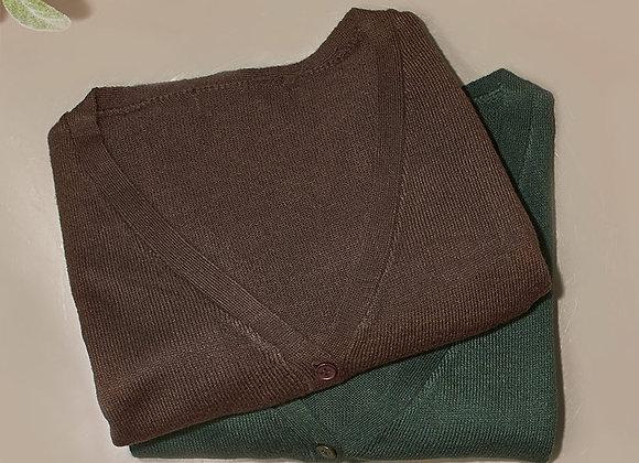 Sets of 2 Fine Gauge Cardigan Sweaters