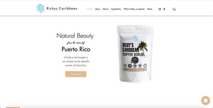 Ricky's Caribbean Coffee Scrub