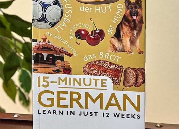 15-Minute Learn-a-Language Book and CD Sets