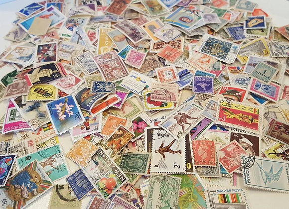 SPECIAL!!! 200 Vintage Worldwide Off Paper Used Postage Stamps, Free SHipping V