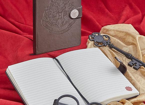 Harry Potter Embossed Metal Clasp Journal