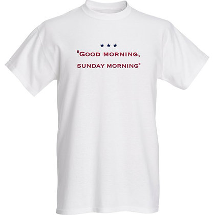 "Men's Tshirt ""Good morning, sunday morning"""