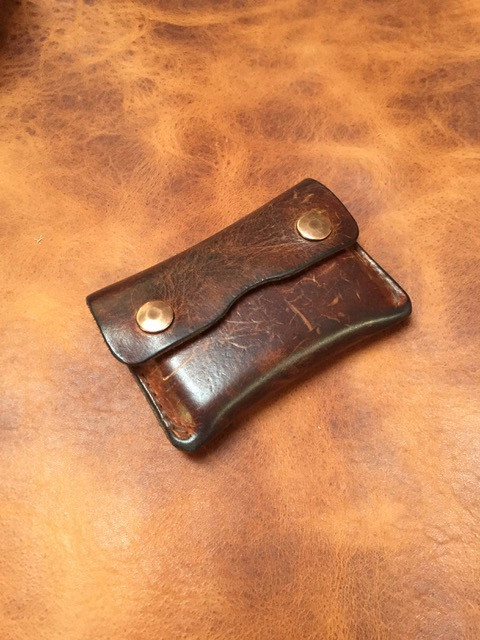 Leather patina