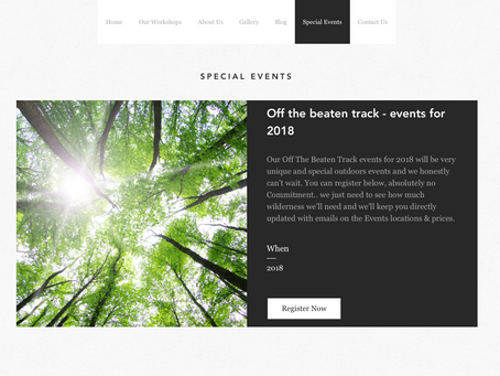Events! Off The Beaten Track -