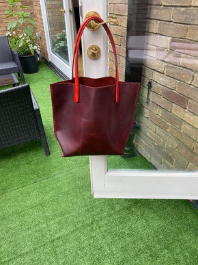 Hand Stitched Tote