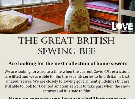 The Great British Sewing Bee - Leather version!