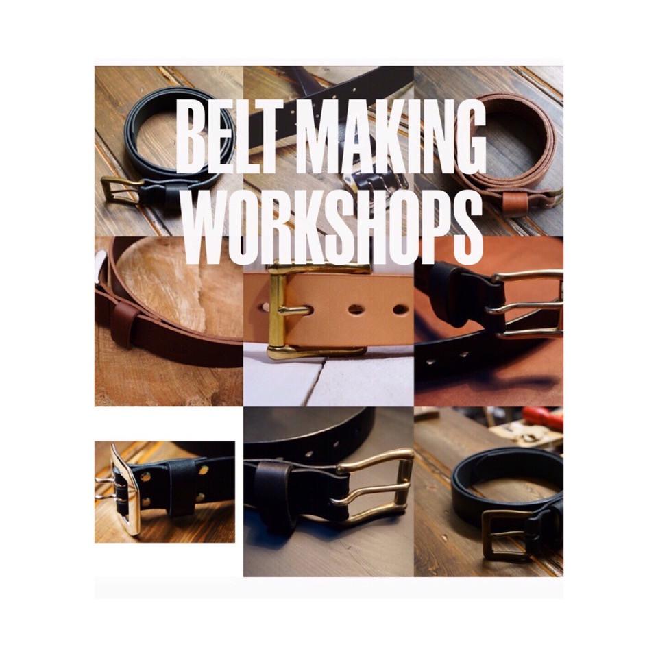 Belt Making workshop