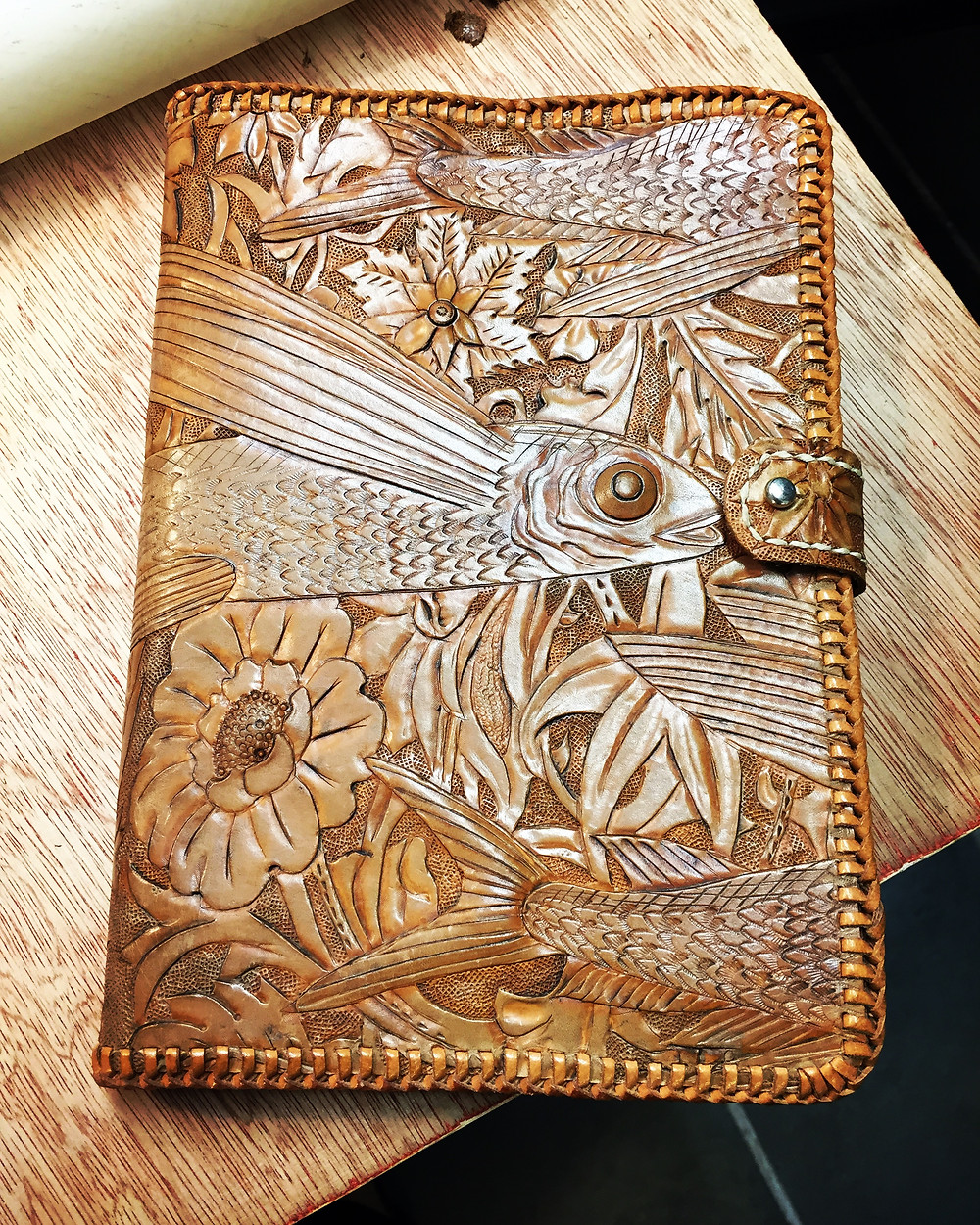 Hand Tooled journal