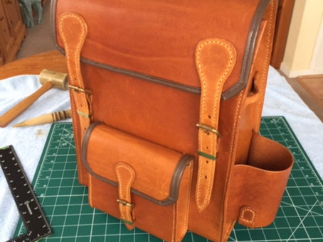 Makers Leather Backpack