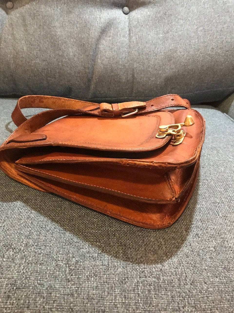 Restored Saddle Bag