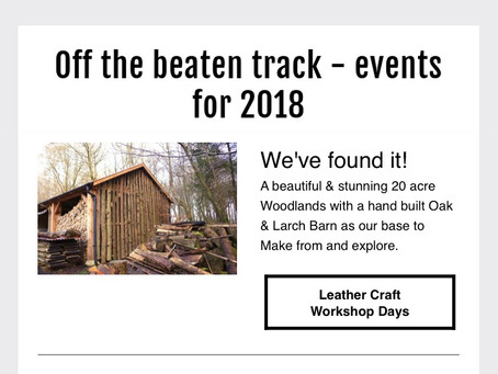 Our Off The Beaten Track - Event - update!