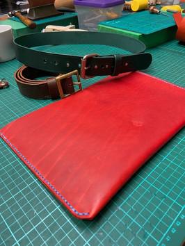 iPad Sleeve & Belts
