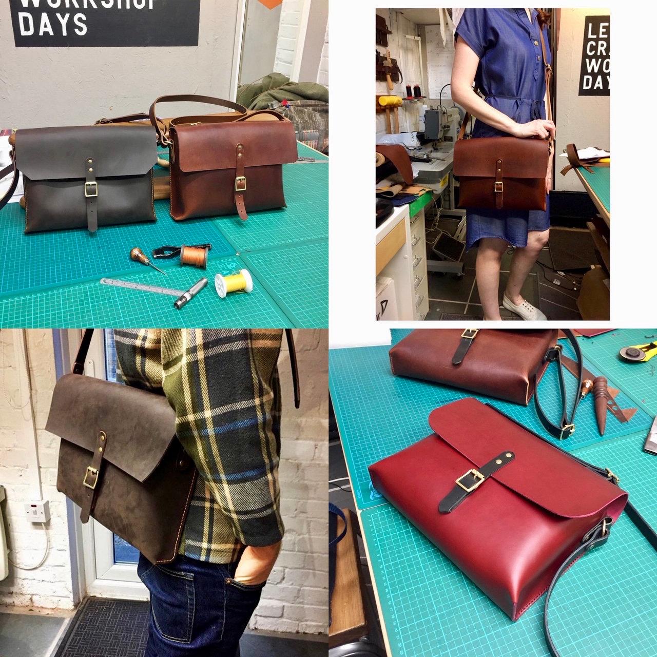 Make your own Crossbody/Messenger Bag