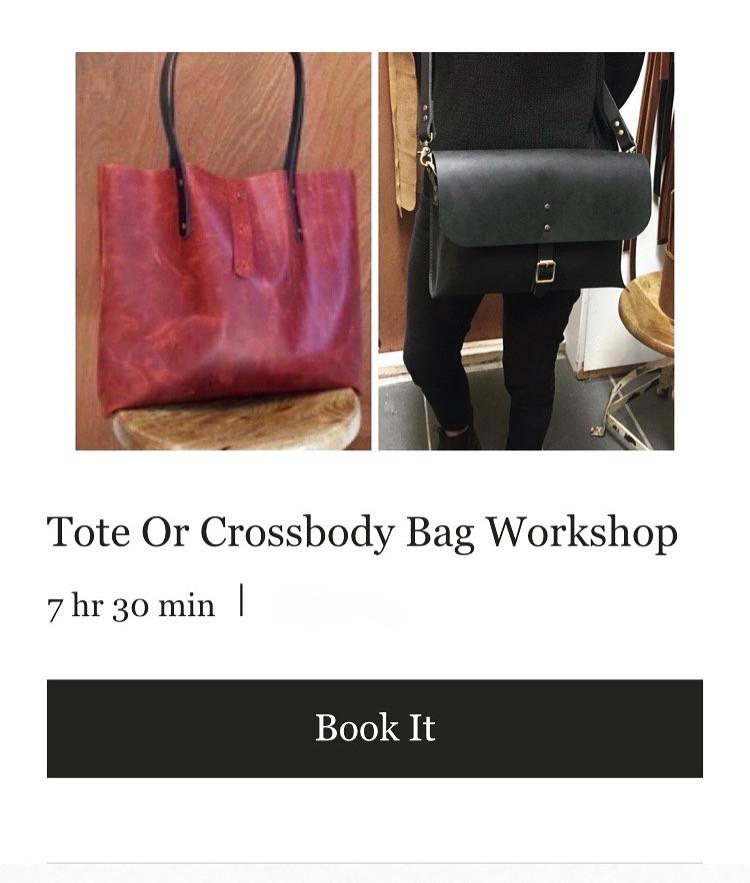 Tote or Crossbody Bag Workshop