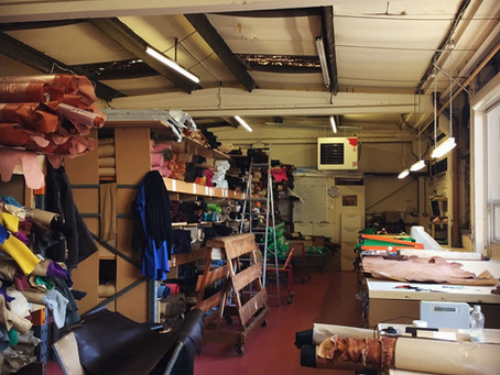 Trip to one of our Leather Merchants