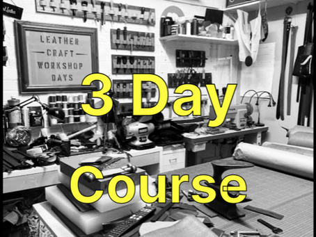 3 Day Leather Course