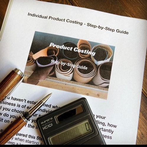 Individual Product Costing - 12 page Step-by-Step Guide