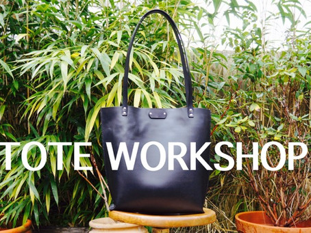 Our new Tote Bag Workshops
