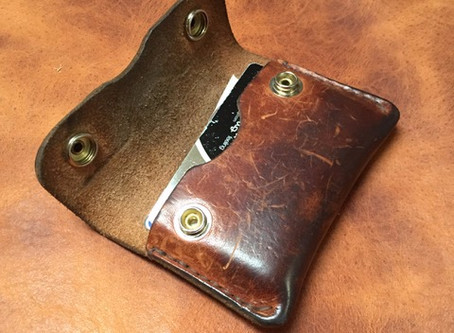 Horween Leather patina