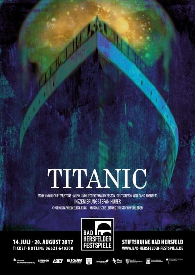 Annette als Marion Thayer in Titanic - Premiere am 14.07.2017