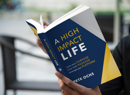 What does it mean to live a high impact LIFE?