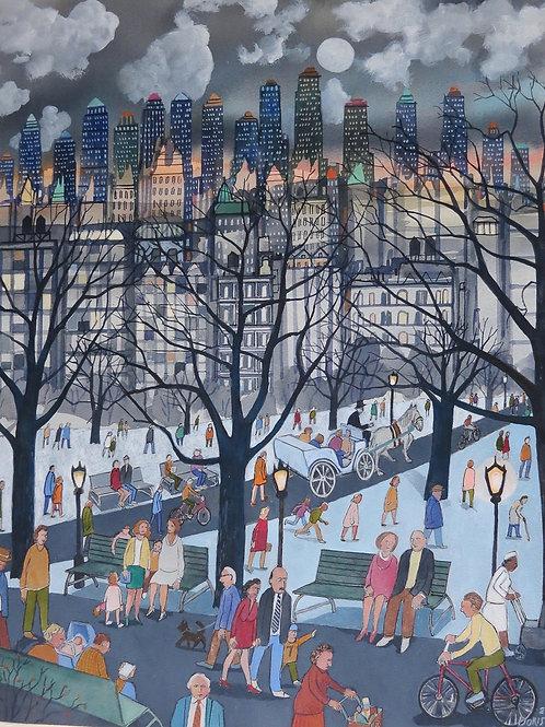 "Dorish: ""City People at Night"""