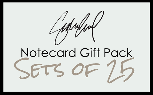 Sets of 25 Notecards