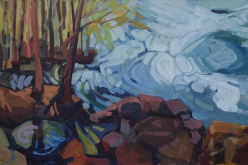 """Paquet-Morante: """"Eddies on a River Bank"""""""