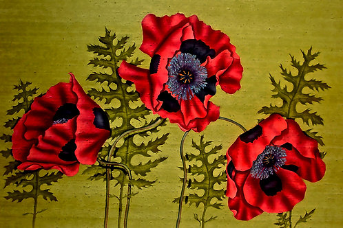 """Falls: """"Poppies with Black"""""""