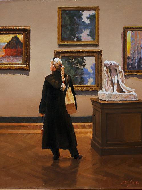 "Smith, Jon: ""Boston Museum of Fine Arts, with Monet"""
