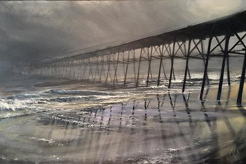 "Harris: ""Coastal Pier"""