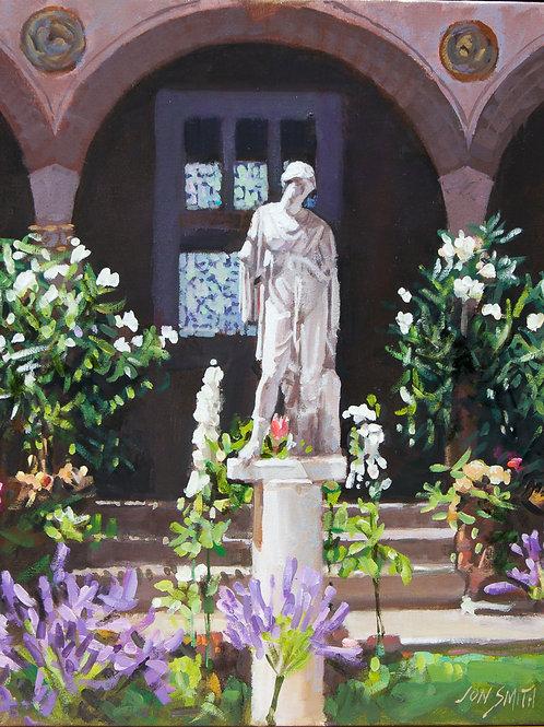 "Smith, Jon: ""Gardner Museum Courtyard"""