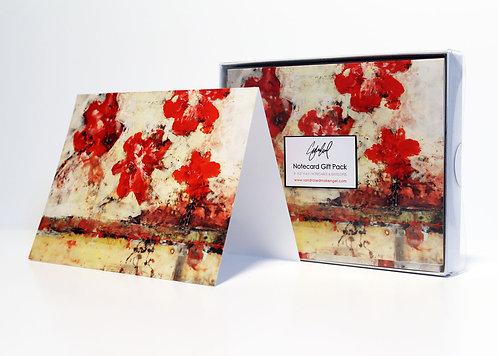 Poppies NotecardGift Pack