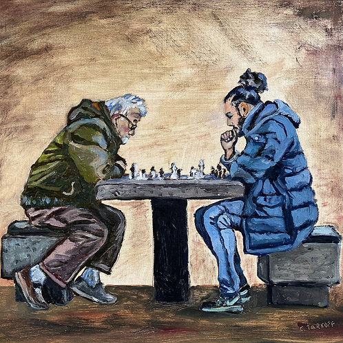 """Tarkoff: """"The Chess Match"""""""