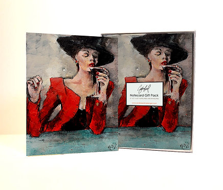 Martinis & Marbele Notecard Gift Pack